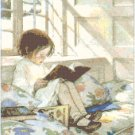 Favorite Book by Jessie Willcox Smith Pattern Chart Graph