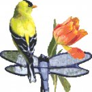 American Goldfinch Pattern Chart Graph