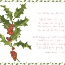 The Holly and the Ivy Pattern Chart Graph