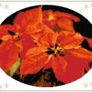 Christmas Poinsettia Pattern Chart Graph