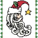 Santa Moon Pattern Chart Graph