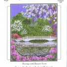 Magnolia Bridge Cross Stitch Chart Pack