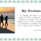 My Husband Pattern Chart Graph
