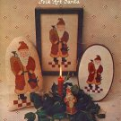 Folk Art VI - Folk Art Santa Cross Stitch Leaflet