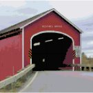 Buskirks Covered Bridge-New York Landscape Pattern Chart Graph