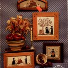 Apple Tree Boy & Girl (The Amish II) Cross Stitch Leaflet