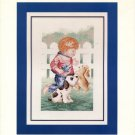 Puppy Pals Cross Stitch Leaflet