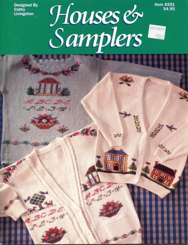 Houses & Samplers Duplicate Stitch Leaflet