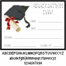 Graduation Day - High School, College Pattern Chart Graph