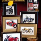 Vintage Cycles Cross Stitch Booklet