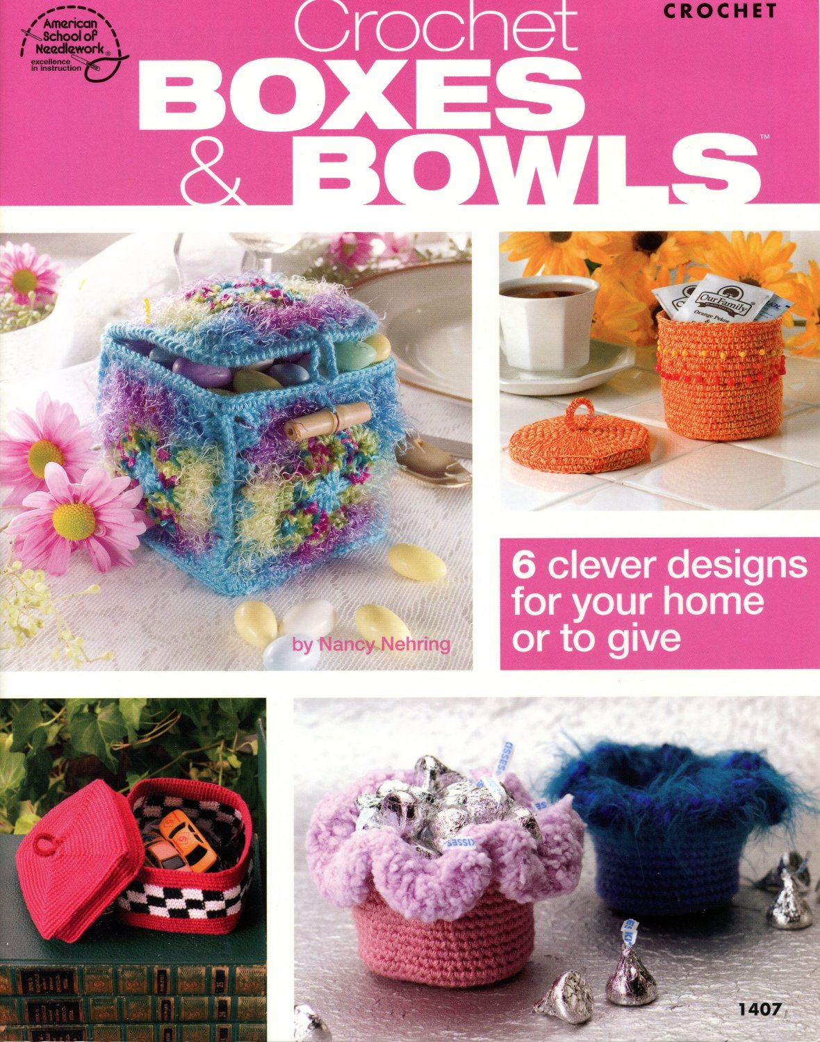Crochet Boxes and Bowls Booklet