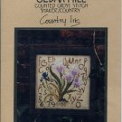 Country Iris Cross Stitch Chart Pack