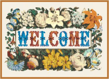 Welcome Pattern Chart Graph