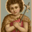 St. John the Baptist Cross Stitch Pattern Chart Graph