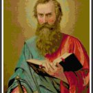 St. Paul the Apostle Cross Stitch Pattern Chart Graph