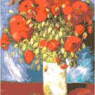 Van Gogh's Poppies Pattern Chart Graph