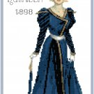 Miss Kathleen 1898 Fashion Design Pattern Chart Graph