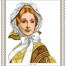 Portrait of Miss Hope 1858 Pattern Chart Graph