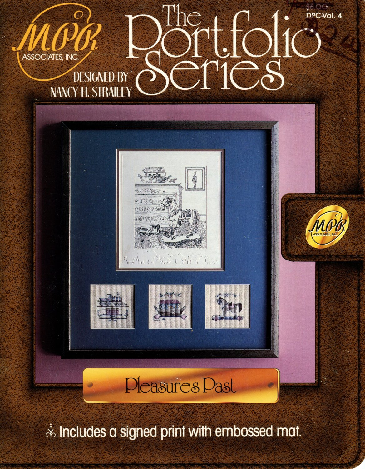 Pleasures Past Cross Stitch Leaflet