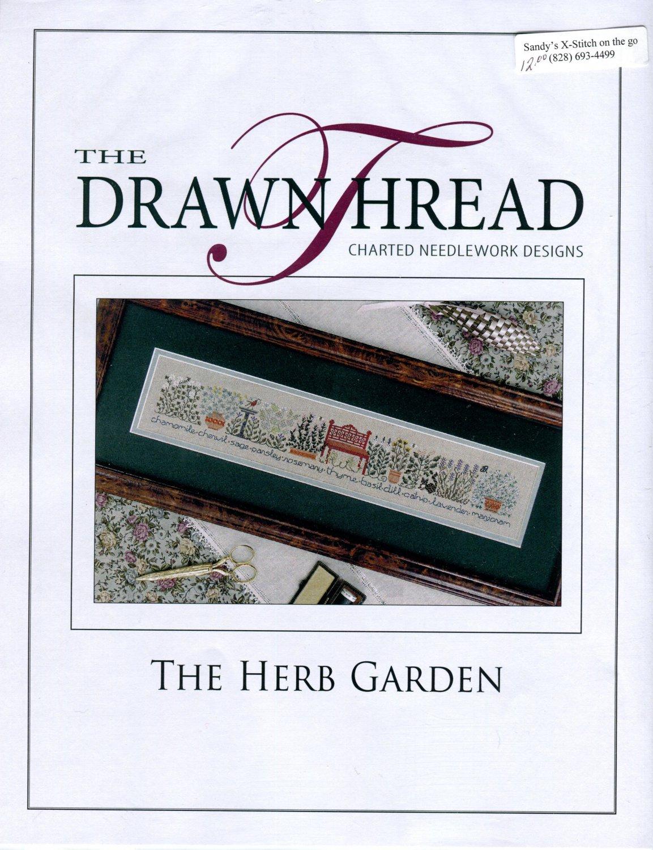 The Herb Garden Cross Stitch Leaflet