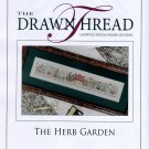 The Herb Garden Cross Stitch Leaflet
