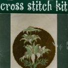 Flannel Flower Cross Stitch Kit
