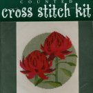 Waratah Flower Cross Stitch Kit
