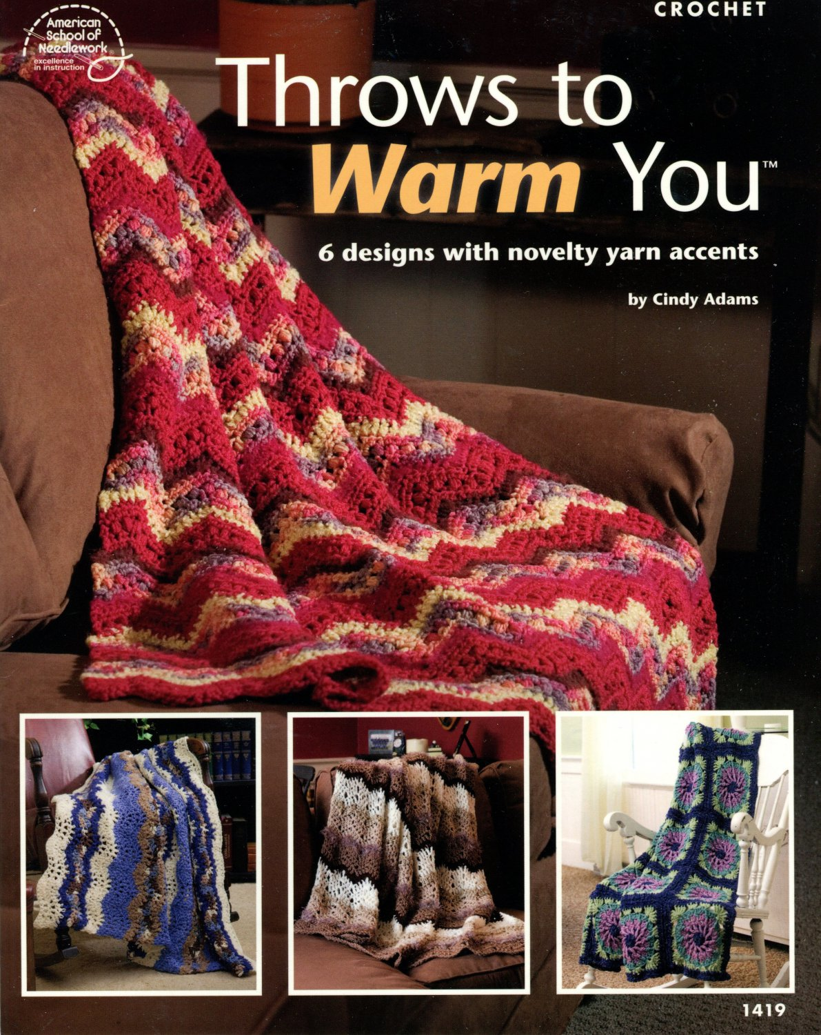 Throws to Warm You Crochet Afghan Booklet