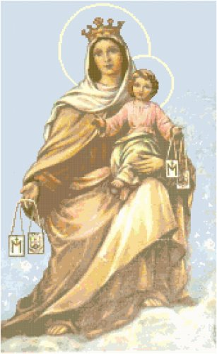 Our Lady of Mount Carmel Pattern Chart Graph