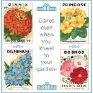 My Flower Garden Pattern Chart Graph