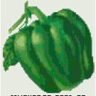 Antique Green Pepper Seed Packet