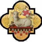 Lamb of Victory and Seven Seals Cross Stitch Pattern Chart Graph