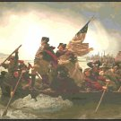 Washington Crossing the Delaware 1776 Cross Stitch Pattern Chart Graph