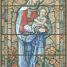 Virgin Mary and Christ Child Pattern Chart Graph