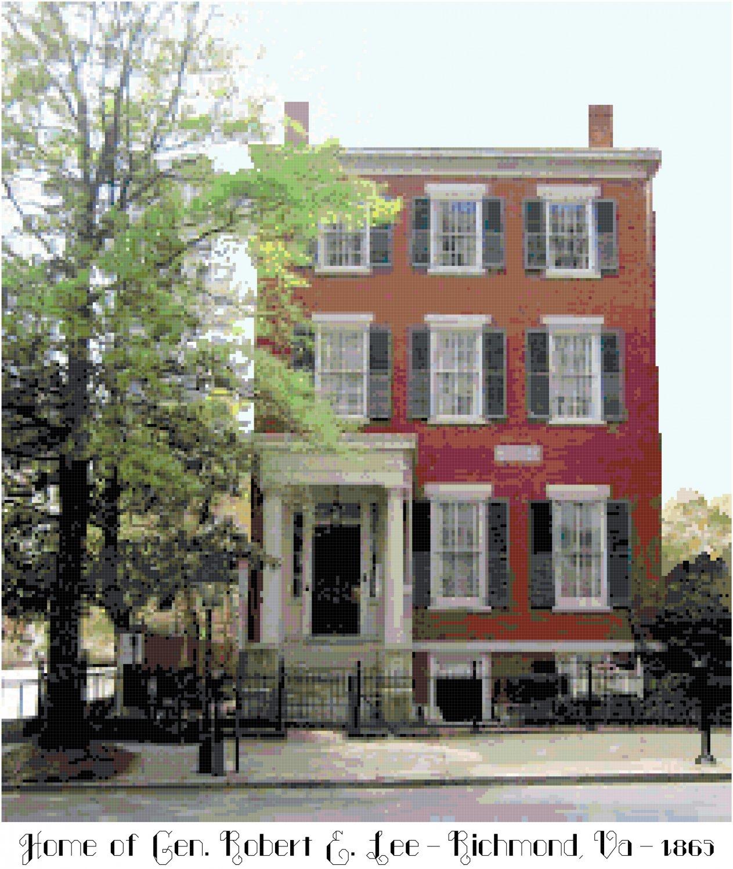 Gen. Robert E. Lee's Home, Richmond, VA 1865