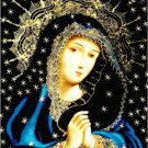 Queen of Heaven and Earth Cross Stitch Pattern Chart Graph