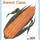 Country Sweet Corn Cross Stitch Pattern Chart Graph