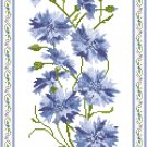 Cornflowers Cross Stitch Pattern Chart Graph