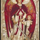 St. Raphael the Archangel Cross Stitch Pattern Chart Graph