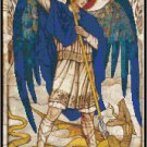 St. Michael the Archangel Cross Stitch Pattern Chart Graph