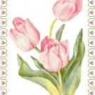 Tulip Time Cross Stitch Pattern Chart Graph