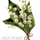 Tussie Mussie Lilies of the Valley Cross Stitch Pattern Chart Graph