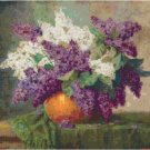 Lilacs by Max Streckenbach Cross Stitch Pattern Chart Graph