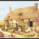 Tralee Garden Cottage Cross Stitch Pattern Chart Graph