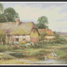 Riverside Cottage Cross Stitch Pattern Chart Graph