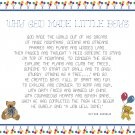 Why God Made Little Boys Cross Stitch Pattern Chart Graph