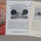 Images of Charleston, The Gazebo and Sampler Wreath Cross Stitch Leaflets (3)