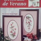 Bellezas de Verano (Hummingbirds) by Leisure Arts Cross Stitch in Spanish Booklet
