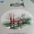 Mill House by John Clayton Cross Stitch Pattern Chart Pack