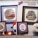 Summer on the Farm and Spring Along the Roadside Cross Stitch Pattern Booklets Set of 2